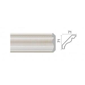 172-7W Карниз потолочный широкий (71x71x2400 мм) 14