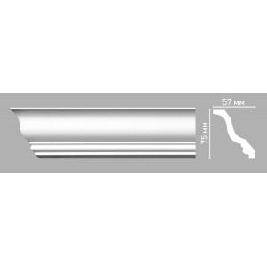 Плинтус потолочный Decomaster 96211/65 (75х57х2400мм)