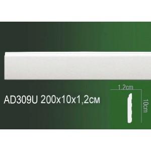 Молдинг полиуретановый напольный AD309U