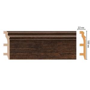Цветной напольный плинтус D232-966