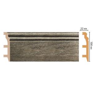 Цветной напольный плинтус D232-86