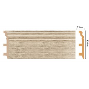 Цветной напольный плинтус D233-72