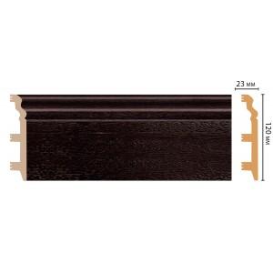 Цветной напольный плинтус D233-433