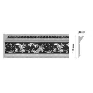 Плинтус потолочный DECOMASTER D214-63 ШК (150*38*2400мм)