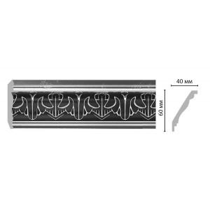 Плинтус потолочный с рисунком DECOMASTER 155B-63 ШК/24 (60*40*2400мм)
