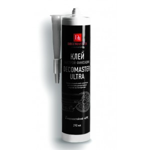 Клей-шпатлёвка Decomaster Ultra 290мл/12 шт