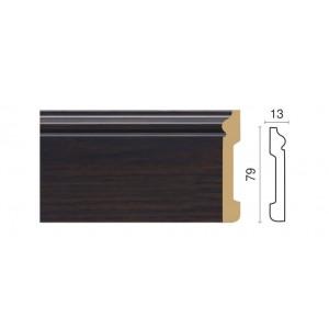 005-87 Плинтус напольный широкий (79x13x2400мм) 24