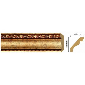 146-552 Карниз потолочный широкий