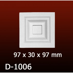 Дверной декор D1006(97*30*97) OptimalDecor