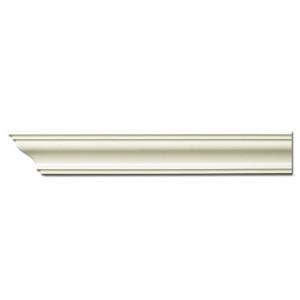 Плинтус потолочный с гладким профилем K257