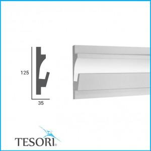 Профиль для светодиодной подсветки KD 401