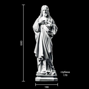 Статуя Иисус ST-016