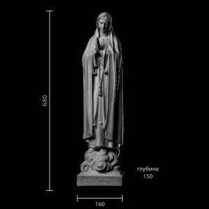 Статуя Богоматерь Фатимская ST-017