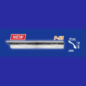 Плинтус потолочный инжекционный Kenopol Р55