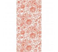 Текстильный орнамент коралл пластиковая панель 250 мм. в Санкт-Петербурге