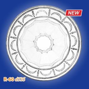 Розетка потолочная из полистирола R60