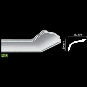 Гладкий потолочный профиль Z17
