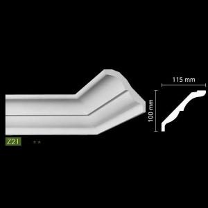 Гладкий потолочный профиль Z21