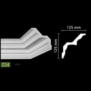 Гладкий потолочный профиль Z24