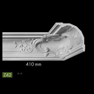 Гладкий потолочный профиль Z42