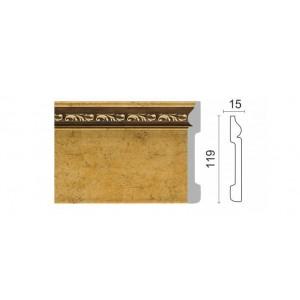 004-1223 Плинтус напольный (119x15x2400мм) 13