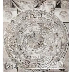Фреска графика фр0214